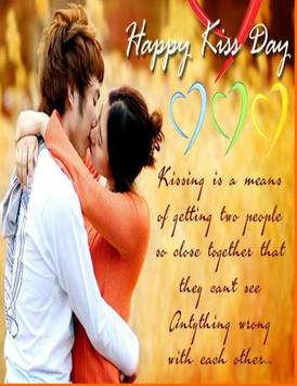 Kiss Day Greetings 2017 screenshot 1