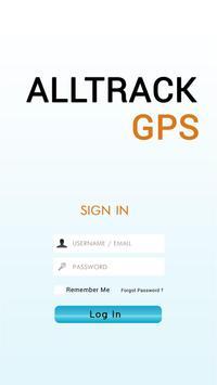 AllTrack GPS poster