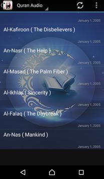 MP3 Quran Muhammad Al Luhaidan apk screenshot
