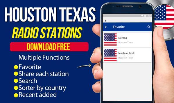 Houston Texas Radio Station apk screenshot