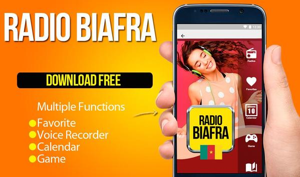 Biafra International Radio poster