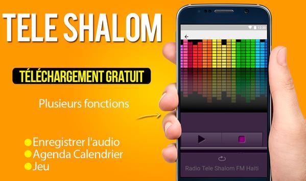 Radio Tele Shalom FM Haiti Radio Apps For Android screenshot 2