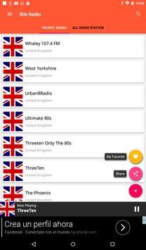 United Kingdom Radio 80s Music Radio Free apk screenshot