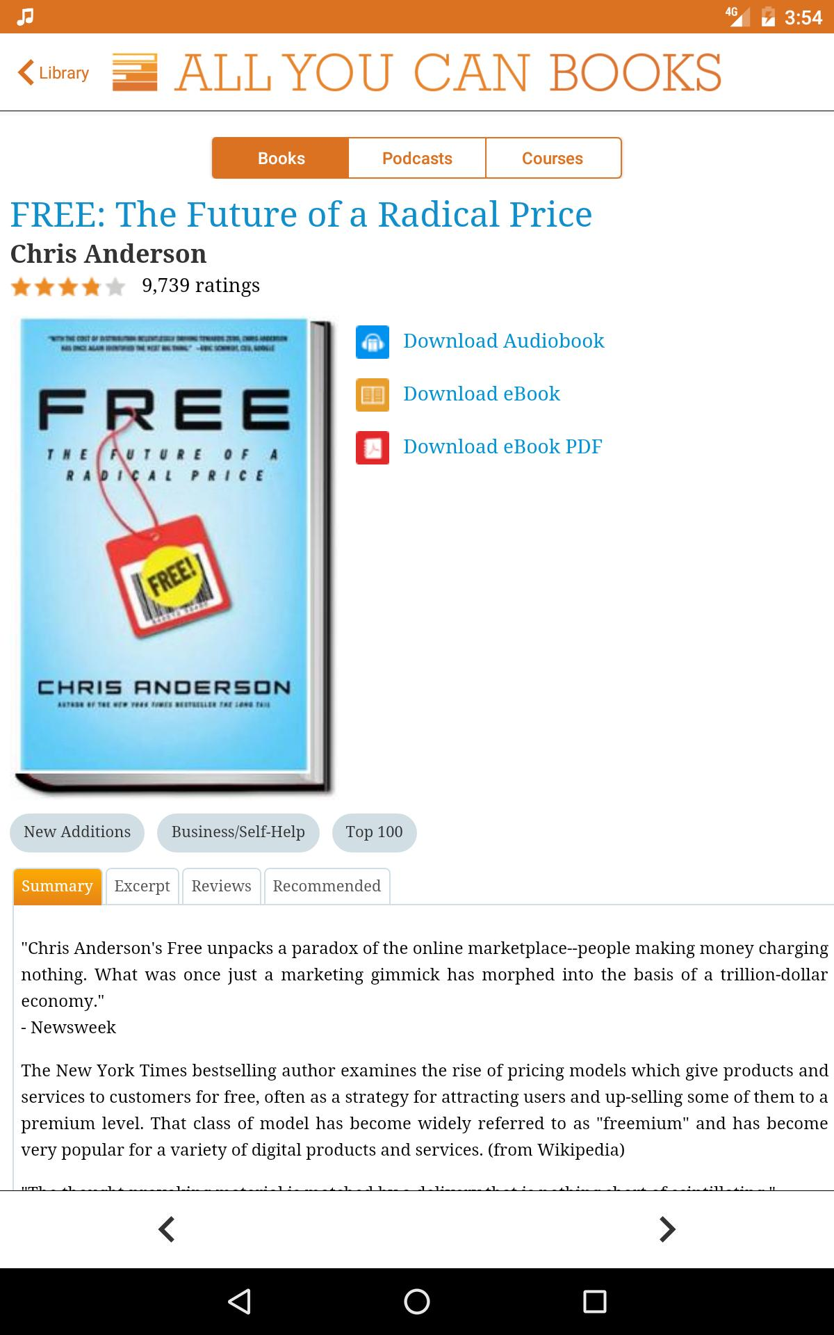 Unlimited AudioBooks for Android - APK Download