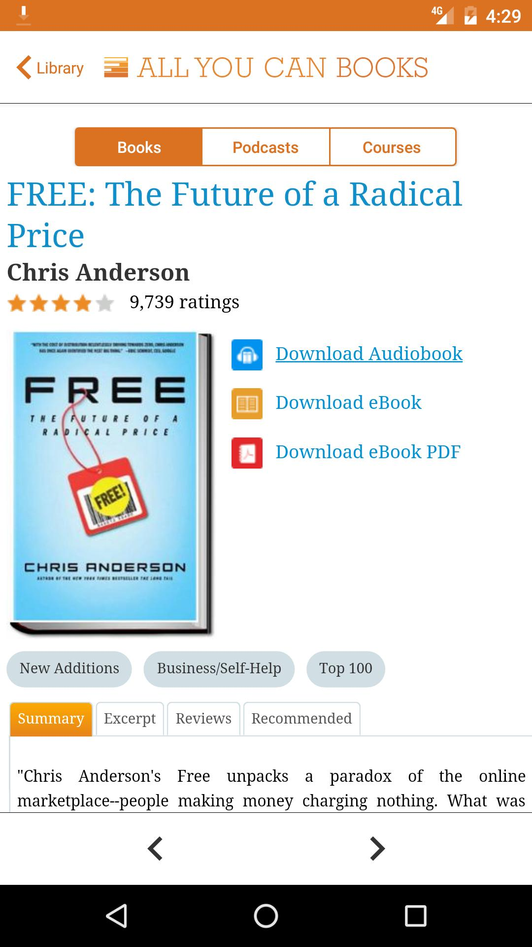 the paradox of choice audiobook download