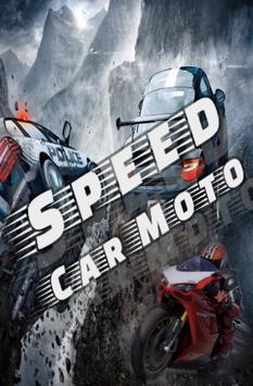 Speed Car Moto poster