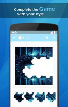 Blue Neon Tech wallpaper screenshot 4