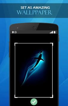 Blue tech wallpaper screenshot 2
