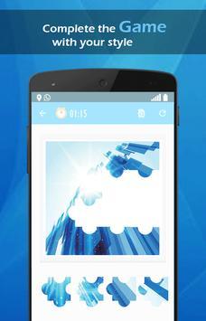 Blue tech wallpaper screenshot 4