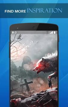 Wolf Blood Darkness wallpaper poster