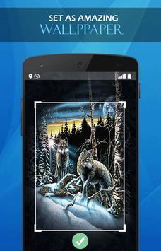 Wolf Blood Darkness wallpaper apk screenshot