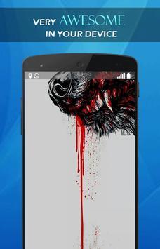 Wolf Blood Darkness wallpaper screenshot 3