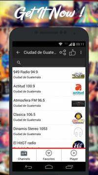 Guatemala Radios AM FM Free poster