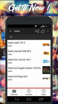 Radios Israel AM FM Free poster