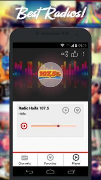Radios Israel AM FM Free screenshot 1