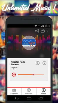 Radios Jamaica AM FM Free screenshot 2