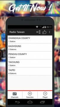 Radios Taiwan AM FM Free poster