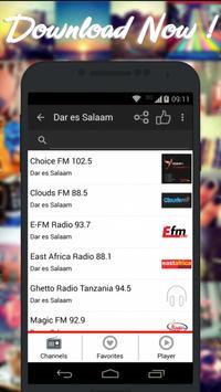 Radios Tanzania AM FM Free poster