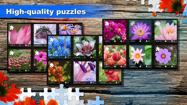 Jigsaw puzzle: Flower game blossom saga for family screenshot 10