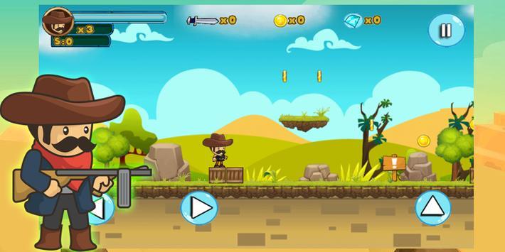 Cowboy Jungle Adventure screenshot 1