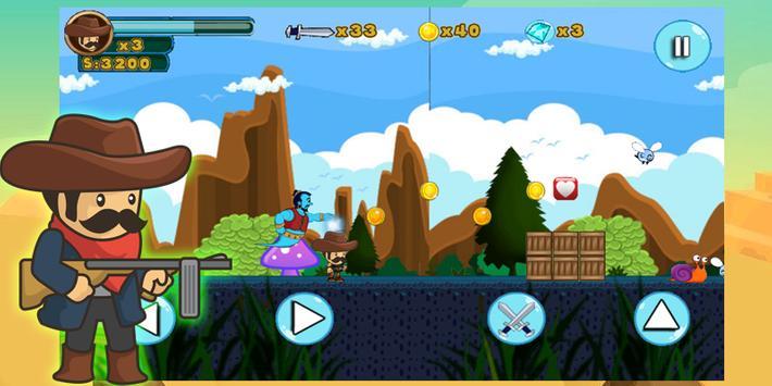 Cowboy Jungle Adventure screenshot 3