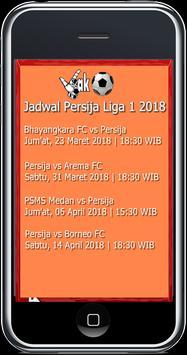 Jadwal Persija Liga 1 2018 screenshot 1