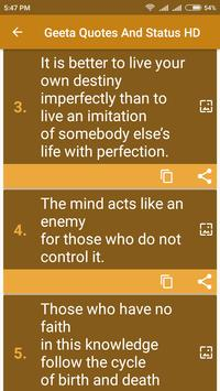 Lord Krishna Quotes From Bhagvad Gita screenshot 2
