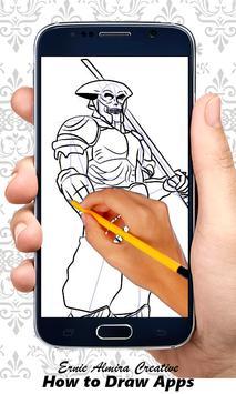Easy to Draw Tekken apk screenshot
