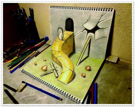 3D Art Drawing - Awesome apk screenshot