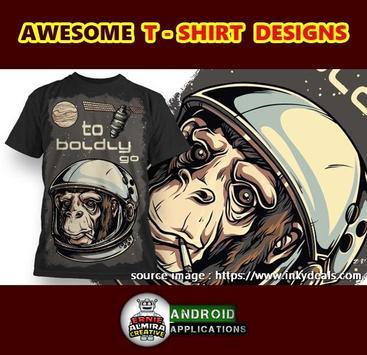 T-Shirt Designer 2017 poster