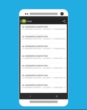 Al-Mubarok Qudsiyyah (MP3) screenshot 1