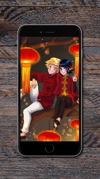 Ladybug and Cat Noir Wallpapers HD apk screenshot