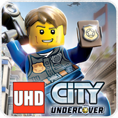 UHD LEGO City Police Wallpaper 4K Ultra HD Quality icon