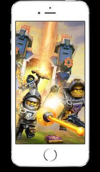 UHD LEGO NEXO Knight Wallpaper 4K Ultra HD Quality poster