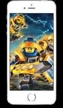 UHD LEGO NEXO Knight Wallpaper 4K Ultra HD Quality screenshot 1