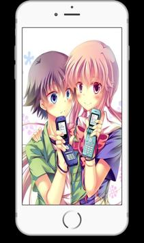 Yuno Gasai Anime Girl Wallpapers HD apk screenshot