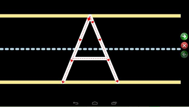 english alphabet for kids screenshot 2