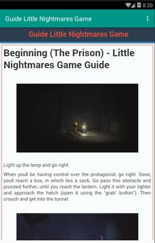 Guide Little Nightmares Game screenshot 3