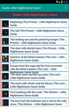 Guide Little Nightmares Game screenshot 2