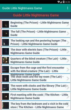 Guide Little Nightmares Game apk screenshot