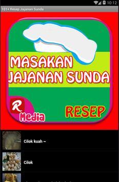 101+ Resep Jajanan Sunda apk screenshot