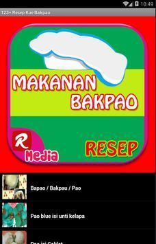 123+ Resep Kue Bakpao apk screenshot