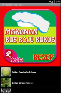 123+ Resep Kue Bolu kukus apk screenshot