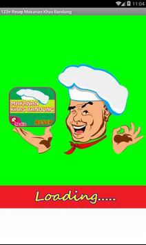 123 Resep Makanan Khas Bandung poster