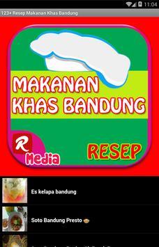 123 Resep Makanan Khas Bandung apk screenshot