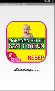 Resep Makanan Sehat Bayi 1 Thn poster
