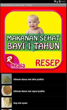 Resep Makanan Sehat Bayi 1 Thn apk screenshot