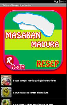 123+ Resep Masakan Khas Madura screenshot 1