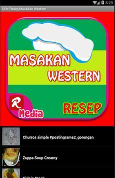 123+ Resep Masakan Western screenshot 1