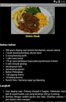 123+ Resep Masakan Western screenshot 2